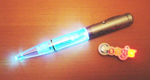 flashy Google things